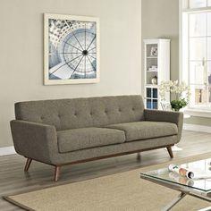 Corrigan Studio Saginaw Upholstered Sofa & Reviews | Wayfair Supply