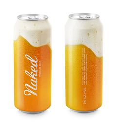 Naked Beer #packaging