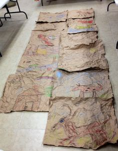 1000 images about paper bag walls on pinterest paper bag walls brown paper bags and leather wall - Brown paper bag walls ...