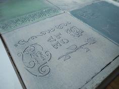 Авторская плитка с объемным декором, переделка кафельной плитки, плитка своими руками