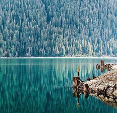 Baker Lake, Washington, USA