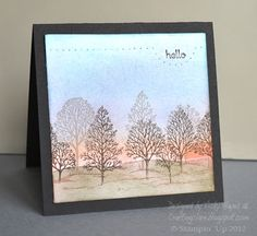 Stampin' Up ideas and supplies from Vicky at Crafting Clare's Paper Moments: Inspired by an early morning!