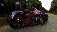 Two wheels of Hells on wheels