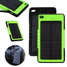 18000mAh Portable Waterproof Solar Charger USB External Battery Pack Power Bank