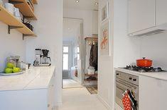 One Room Apartment in Stockholm Showcasing an Ingenious Interior Design
