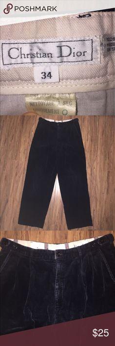 Vintage Christian Dior Corduroy Pants Men's Size 34. Good condition. Christian Dior Pants Corduroy