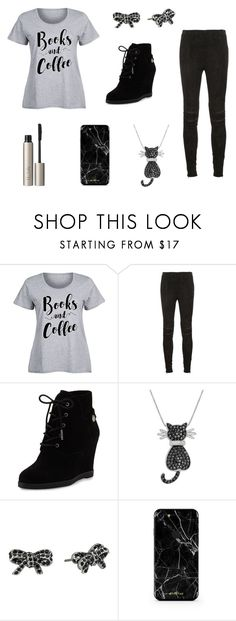 """Books & Coffee"" by cute-outfits25 on Polyvore featuring Yves Saint Laurent, MICHAEL Michael Kors, Amanda Rose Collection, Marc Jacobs, Ilia and plus size clothing"