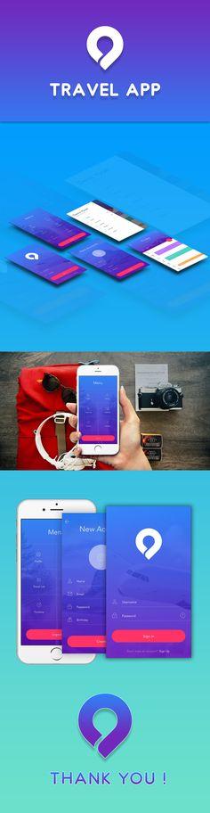 @Behance projeme göz atın: \u201cTravel App\u201d https://www.behance.net/gallery/54854983/Travel-App