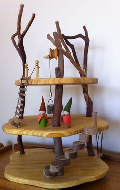 absolutely beautiful handmade tree houses and doll houses - affordable and local (Adelaide) webbcraft
