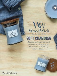 SOFT CHAMBRAY: Relaxing and clean, this fragrance envelopes the senses with soft…