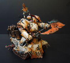 Not just a picture, how this model was actually created en francais #40K #Nurgle