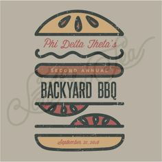 Phi Delta Theta | Phi Delt | Backyard BBQ | Philanthropy | Brotherhood | South by Sea | Greek Tee Shirts | Greek Tank Tops | Custom Apparel Design | Custom Greek Apparel | Fraternity Tee Shirts | Fraternity Tanks | Fraternity Shirt Designs