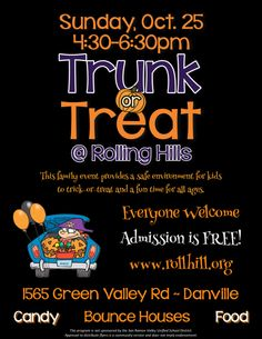 Trunk or Treat : Community Fair/Festival - school - Golden View Elementary
