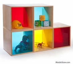 The Kids Collection collection features Kids Collection like Whitney Brothers Wall Mount Book Shelf, Whitney Brothers Big Hand Mirror Set Cube Furniture, Painted Furniture, Mirror Set, Cube Storage, Contemporary Furniture, Colorful Interiors, Floating Shelves, Repurposed, Kids Room