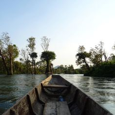 Si Phan Don, Mekong boat trip on the Mekong Phan, Laos, Travel, Instagram, Viajes, Trips, Traveling, Tourism, Vacations