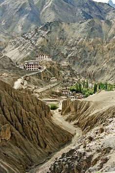 Lamayuru monastery is the oldest and one of the largest monasteries in Ladakh region of India