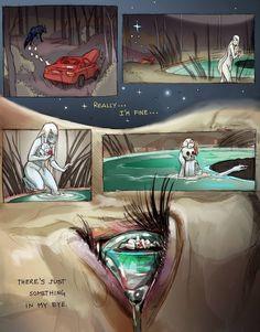 "mydemandingheart: ""I'm fine. Art by Chiara Bautista """