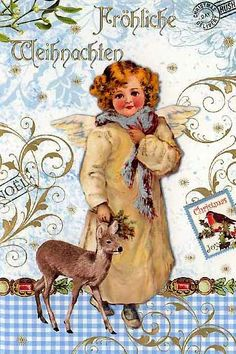 43 best german christmas cards images on pinterest german christmas card from germany m4hsunfo
