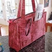 Reversible or Zippered Tote - via @Craftsy