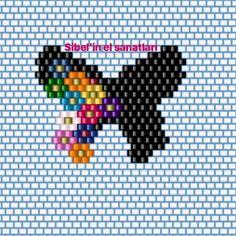 Fotoğraf açıklaması yok. Peyote Stitch Patterns, Seed Bead Patterns, Beading Patterns, Bead Embroidery Jewelry, Beaded Embroidery, Seed Bead Projects, Beaded Banners, Beadwork Designs, Beaded Earrings Patterns