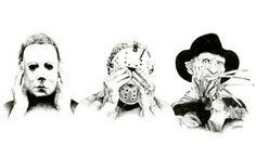 Hear no Myers, See no Jason,  Speak no Freddy