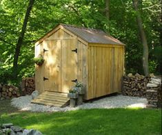 Storage Shed Kits, Building A Storage Shed, Garden Storage Shed, Garden Sheds, Building Plans, Diy Storage, Backyard Sheds, Outdoor Storage, Backyard Storage