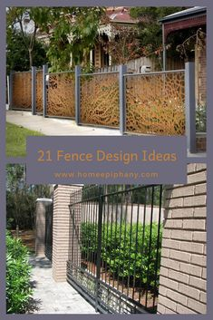43 best fence and gate design images gardens fence ideas fence rh pinterest com