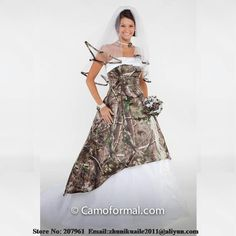 Weddings & Events Devoted White Real Tree Camo A-line Wedding Dress 2019 Draped Lace Up Back Bridal Gowns Custom Camouflage Vestidos De Mariee Cheap