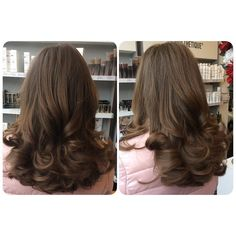 We have serious hair envy right now! Caz loved creating this bouncy blow dry on her clients gorgeous shiny locks Why not treat yourself to a cut or blowdry go on you deserve it #helyhairstudio #bouncyblow #treatyourself