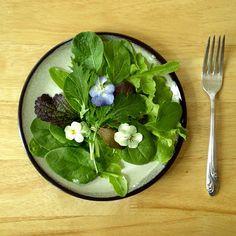 Foy Update: Johnny Jump Up Spring Salad - Recipe