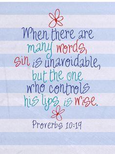 Proverbs 10:19