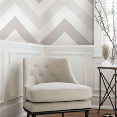 Chevron Grey wallpaper