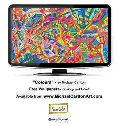 """""""Colours"""" - Hi-Res Wallpaper for Desktop and Tablet"""