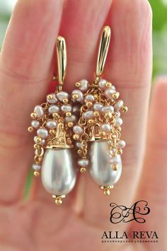 Astonishing Tips: Luxury Jewelry Handmade jewelry rings bracelets.Pearl Jewelry For Kids. Pearl Stud Earrings, Bead Earrings, Pearl Jewelry, Boho Jewelry, Jewelry Sets, Beaded Jewelry, Fine Jewelry, Jewelry Design, Fashion Jewelry