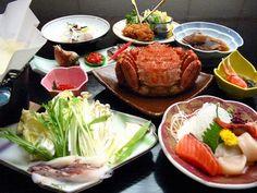 海の幸のお食事(イメージ)