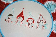 Annie Oakleaves Christmas Cuties Collection PDF by sewdeerlyloved