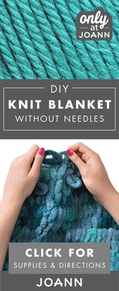 Check out these beginner-friendly tutorials from JOANN to learn how you can knit without needles in one easy step. Learning a new technique is a fun way to expand your love of knitting in a whole new way. Finger Knitting