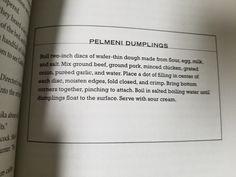 18. Pelmeni Dumplings