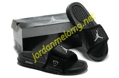 3214d5569eac Jordan Hydro 14 Premier Slides Sandals Blackout White