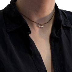 The delicate Ceti Necklace by Unearthen is perfect for stacking, sitting high like a choker. The raw quartz stone is tough yet feminine in equal measure, sitting in the antique curbed chain. Jennie Kwon, Quartz Stone, Brass Chain, Delicate, Chokers, Feminine, Jewelry, Women's, Jewels