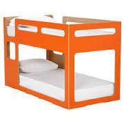 orange bunk bed domayne. Definitely getting this when we move.