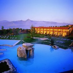 Adler Thermae Spa & Resort @ Tuscany - definetly want to go there. Italy and Spa. Perfect match!