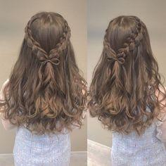 Kawaii Hairstyles, Pretty Hairstyles, Braided Hairstyles, Medium Hair Styles, Curly Hair Styles, Repetto, Aesthetic Hair, Hair Designs, Gorgeous Hair