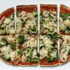 Flatbread Pizza - 10 Healthy Pizza Recipes - Shape Magazine - Page 9