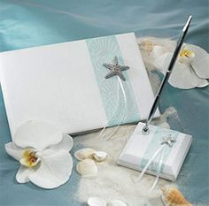 Seaside Allure Collection - Pen and Guest Book