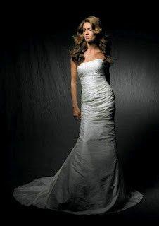 Magnificent wedding dress.