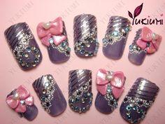 nailwhores: Kawaii Nails~ new nails!