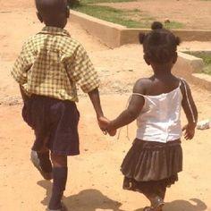 Beautiful children in Uganda