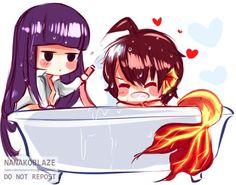 Rokuro and Benio #tse