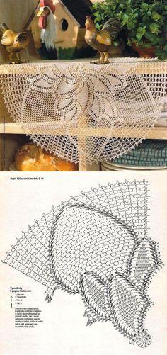 liveinternet.ru Free Crochet Doily Patterns, Crochet Doily Diagram, Crochet Circles, Crochet Mandala, Crochet Round, Crochet Chart, Thread Crochet, Filet Crochet, Crochet Dollies